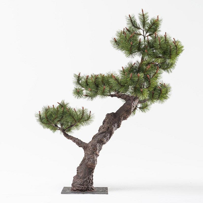 【即納】完全一点物制作品 アーティフィシャルフラワー 松の造花 高さ110cm【9】