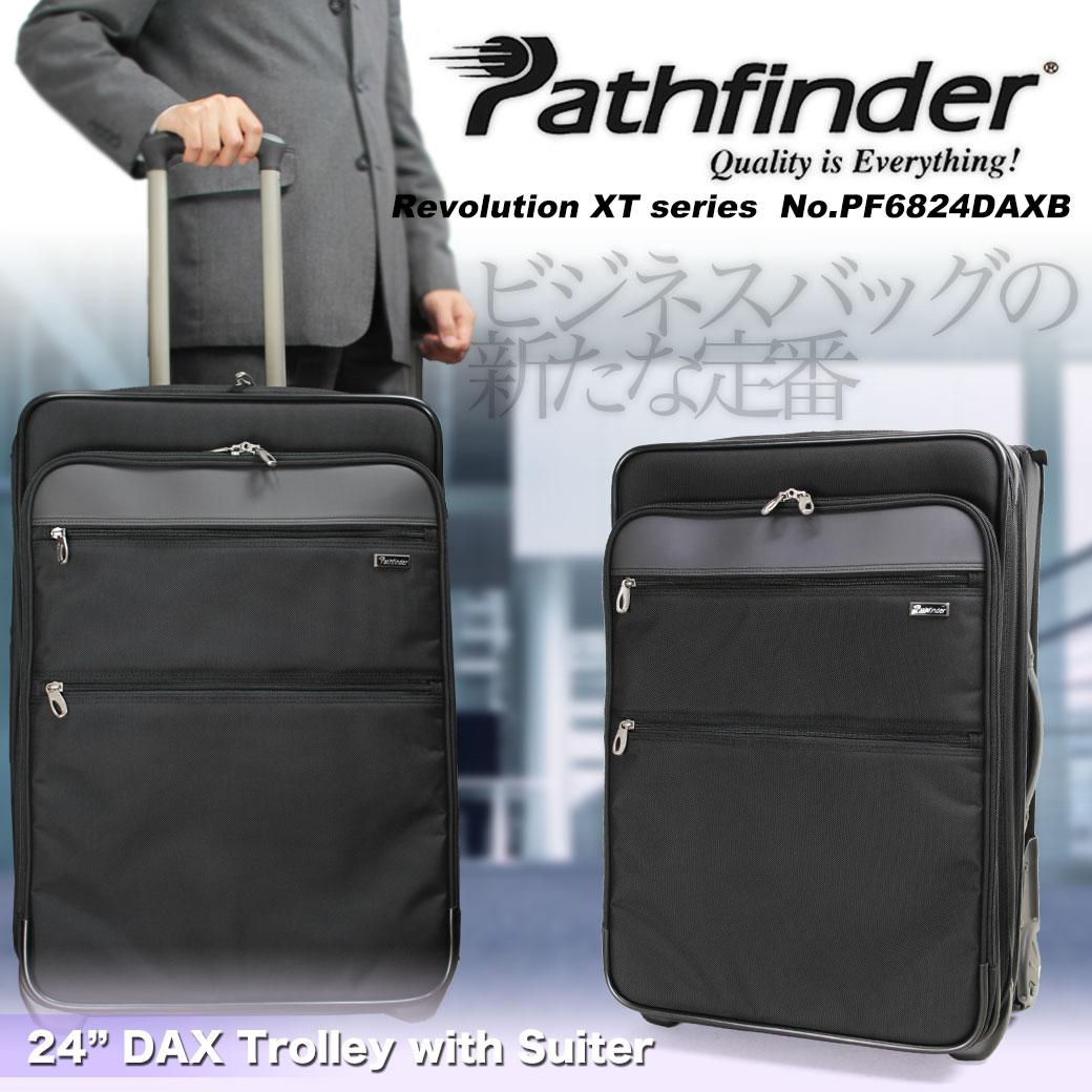 【期間限定!今だけポイント10倍】 スーツケース キャリーケース メンズ Pathfinder パスファインダー Revolution XT レボリューションXT キャリーバッグ 旅行 出張 ナイロン TSAロック 2輪 メンズバッグ ブランド u6zdG12