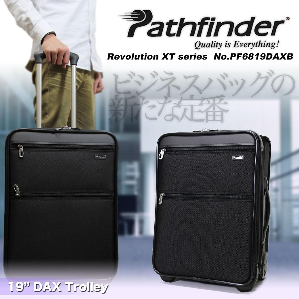 【期間限定!今だけポイント10倍】 スーツケース キャリーケース メンズ Pathfinder パスファインダー Revolution XT レボリューションXT キャリーバッグ 旅行 出張 ナイロン TSAロック 2輪 機内持ち込み メンズバッグ u6zdG12