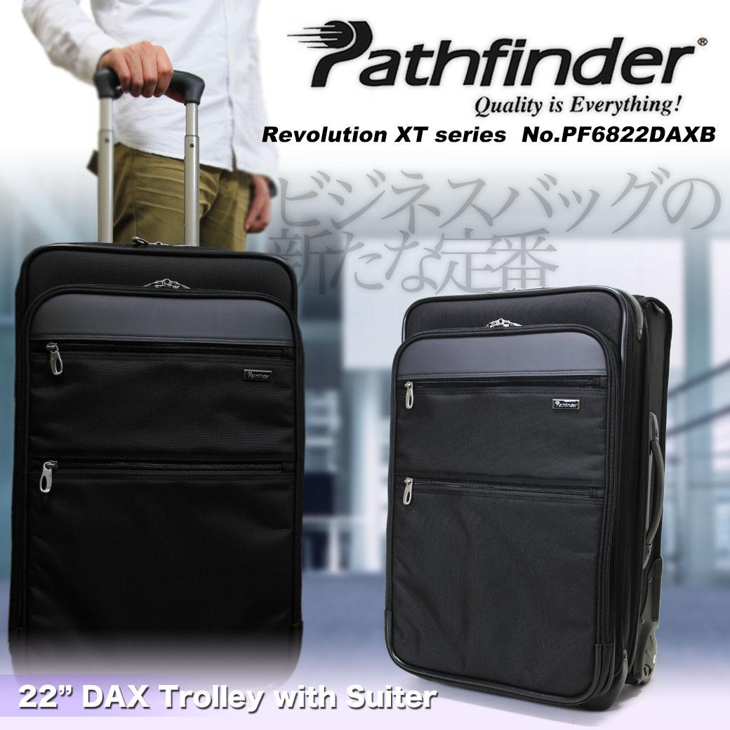 【4万レビュー突破記念クーポン配布中】 スーツケース キャリーケース メンズ Pathfinder パスファインダー Revolution XT レボリューションXT キャリーバッグ 旅行 出張 ナイロン TSAロック 2輪 メンズバッグ ブランド q86jG12