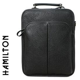 セカンドバッグ ビジネスバッグ メンズ HAMILTON ハミルトン 2way ショルダーバッグ A4未満 縦型 軽量 セカンドバック ショルダーバック メンズバッグ バッグ 鞄 かばん bag カバン (16427) 海外旅行バッグ men's