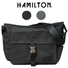 ショルダーバッグ メンズ HAMILTON ハミルトン ドビーナイロンショルダー 斜めがけバッグ A4未満 横型 キャリーオンバッグ 軽量 メンズバッグ バッグ ブランド プレゼント 鞄 かばん カバン bag (33718) 海外旅行バッグ men's
