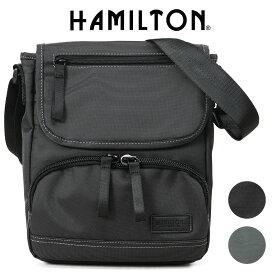 ショルダーバッグ メンズ HAMILTON ハミルトン ドビーナイロンショルダー 斜めがけバッグ A4未満 縦型 軽量 メンズバッグ バッグ ブランド プレゼント 鞄 かばん カバン bag (33719) 海外旅行バッグ men's