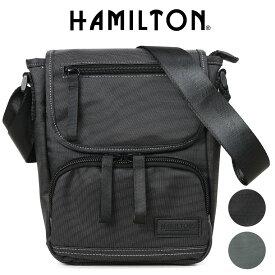 ショルダーバッグ メンズ HAMILTON ハミルトン ドビーナイロンショルダー 斜めがけバッグ A4未満 縦型 軽量 メンズバッグ バッグ ブランド プレゼント 鞄 かばん カバン bag (33720) 海外旅行バッグ men's