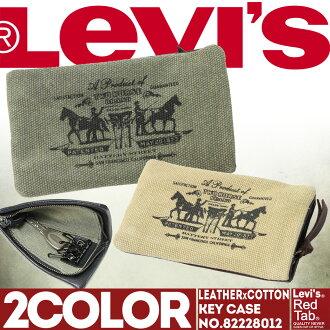 皮革关键案例男子轻量级皮革李维斯 (Levi) 钥匙持有人 82228012