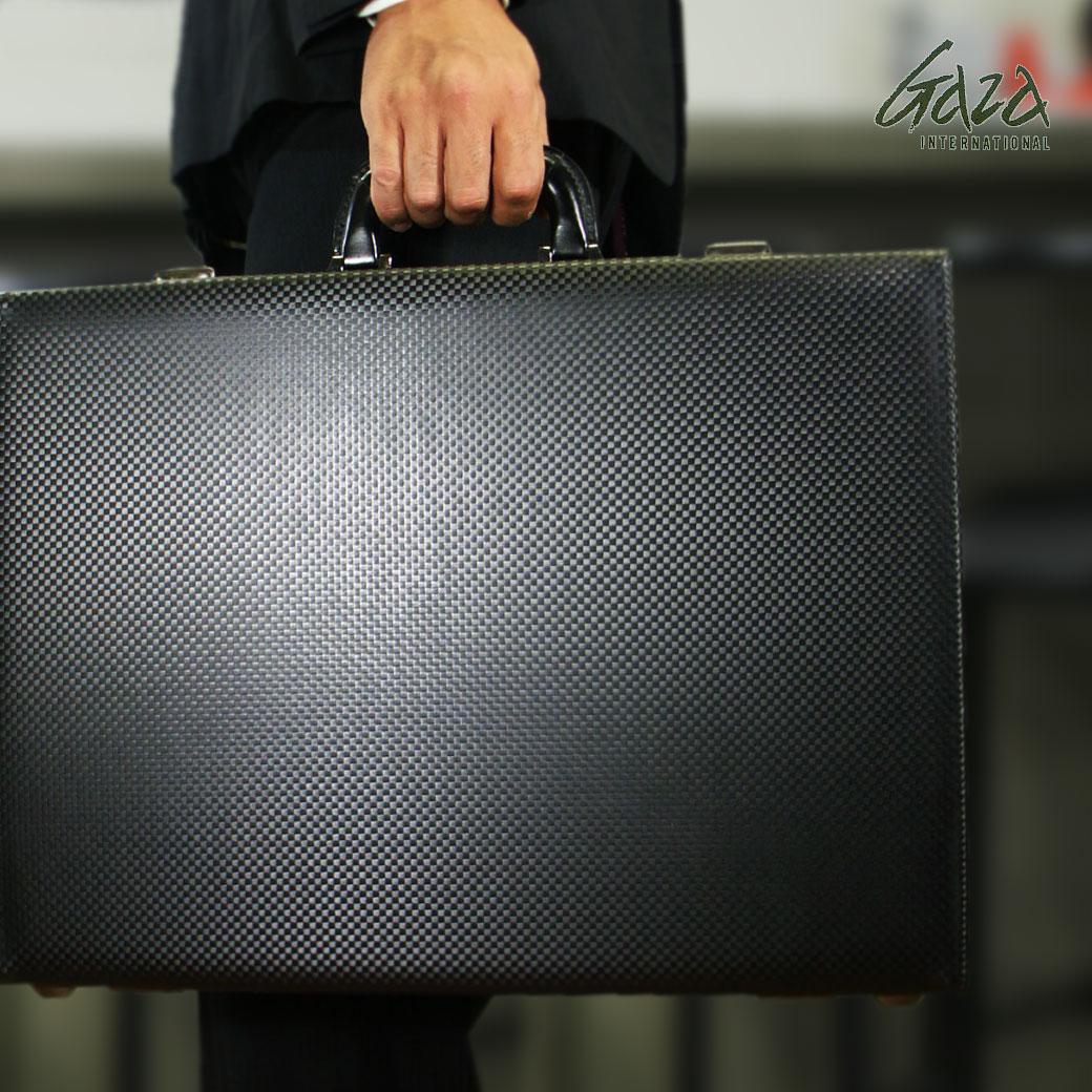 【ポイント10倍中!】 アタッシュケース ビジネスバッグ メンズ GAZA ガザ ATTACHECASE アタッシュ 合成皮革 アタッシュケース B4 横型 日本製 メンズバッグ バッグ ブランド ランキング プレゼント ギフト 青木鞄 q39bA03 (6254)