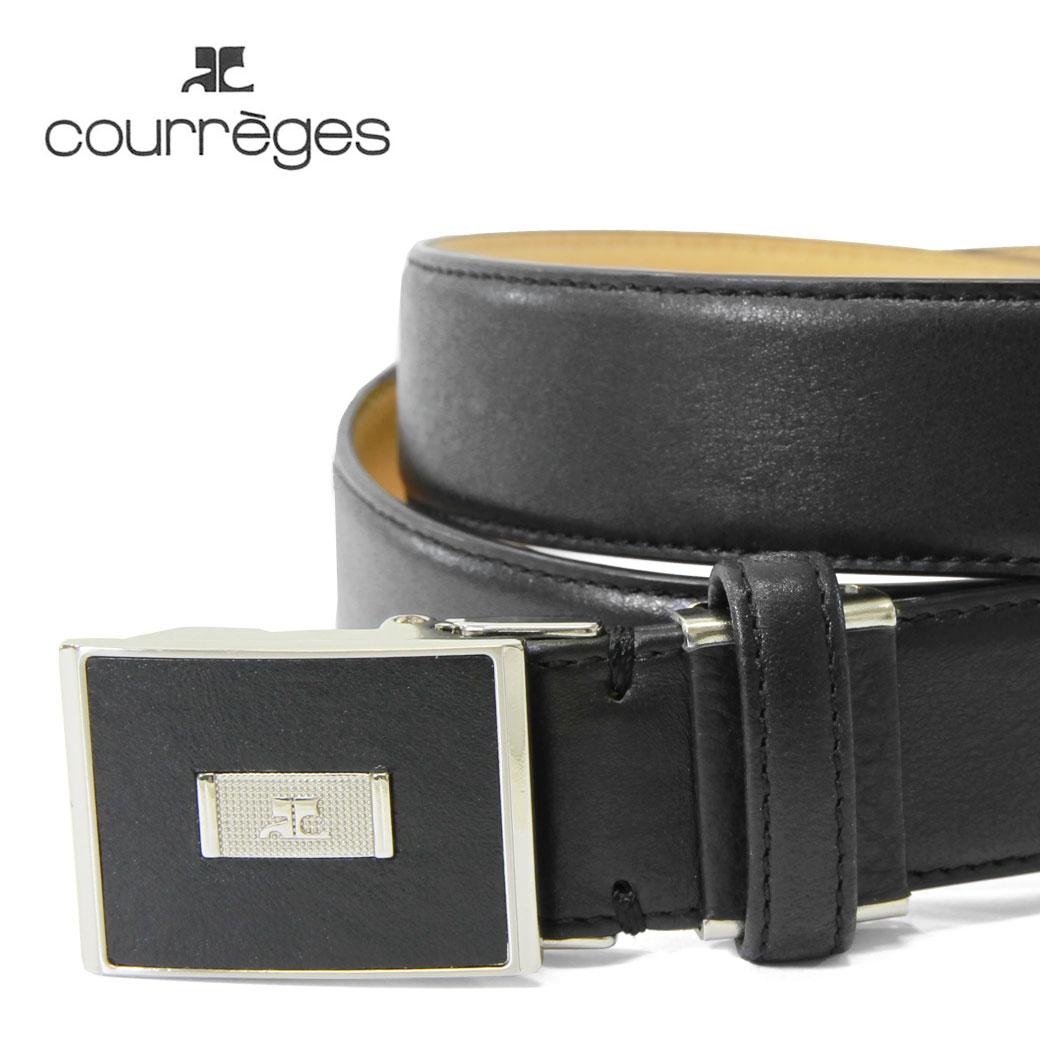 ベルト メンズ courreges クレージュ Belt ベルト 紳士ベルト 本革 牛革 小物 ベルト ブランド ランキング プレゼント ギフト