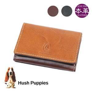 【限定クーポン発行中!】名刺入れ メンズ ブランド Hush Puppies ハッシュパピー マゴ 名刺ケース 名刺入れ 名刺いれ カードケース