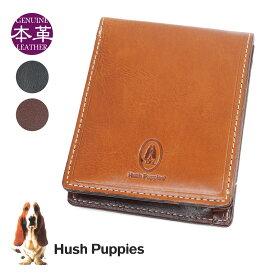 二つ折り財布 メンズ Hush Puppies ハッシュパピー マゴ 折りたたみ メンズ財布 二つ折り 財布 ブランド 折財布 メンズ 折り財布 父の日 ギフト 父の日 プレゼント 実用的