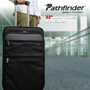 スーツケース キャリーケース メンズ Pathfinder パスファインダー Revolution XT レボリューションXT キャリーバッグ 旅行 出張 ナイロン TSAロック 2輪 メンズ バッグ ブランド nylon