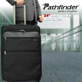 【割引クーポン&ポイント10倍】スーツケース キャリーケース メンズ Pathfinder パスファインダー Revolution XT レボリューションXT キャリーバッグ 旅行 出張 ナイロン TSAロック 2輪 メンズバッグ q5aqG12 pf6824dax 送料無料 men's nylon