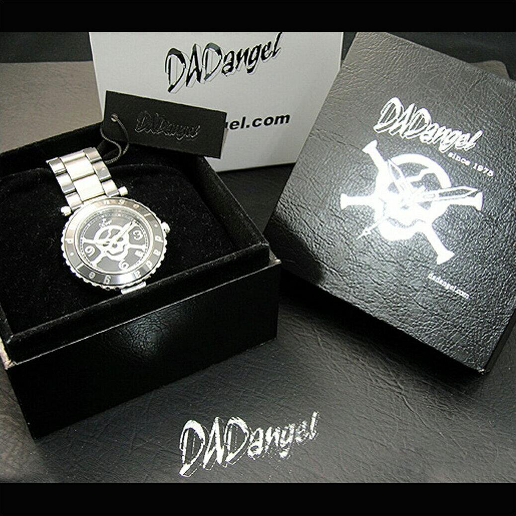 【ラッピング無料】DADangel ダッドエンジェル セラミック スカル メンズ 腕時計メンズウォッチ[DAD701]メンズ 紳士 腕時計 時計 ギフト 防水 どくろ ランキング ANy07kpl プレゼント