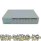 HDTVI-VS304【HDMI出力搭載HDTVI・AHD・HDCVI・CVBS対応4分割ユニット】