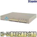TQS-HD09【19インチラック対応HD-SDI入力対応画面9分割ユニット】
