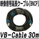 VB-Cable 30m【防犯カメラ用映像ケーブル(両端BNCP加工)】