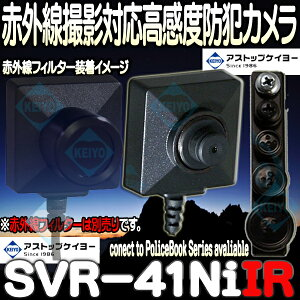 SVR-41NiIR【高感度マイク搭載赤外線対応防犯カメラ】
