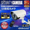 OL-022W【屋外設置対応赤外線搭載SDカード録画防犯カメラ】【監視カメラ】 【オンスクエア】 【送料無料】