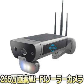 鉄カブトPRO(WTW-IPWS1128)【屋外設置対応265万画素ソーラーパネル搭載Wi-Fiネットワークカメラ】 【防犯カメラ】【監視カメラ】【送料無料】
