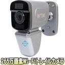見張り番PRO(WTW-IPWS1225)【屋外設置対応Wi-Fi機能搭載265万画素トレイルカメラ】 【防犯カメラ】【監視カメラ】【送料無料】