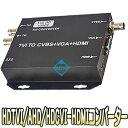 ASM-HDMI-CVTII(ASM-HDMI-CVT2)【HDTVI・HDCVI・AHD対応コンバーター】 【アナログハイビジョン】 【防犯カメラ】 【監視カメラ】 【送…