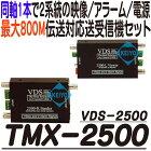 TMX-2500(VDS-2500)【2系統映像/アラーム/電源信号伝送システム】