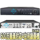 ASR-2004XV(4TB)【AHD/HDCVI/HDTVI/IP/CVBS対応500万画素録画4TB搭載レコーダー】