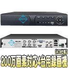 ASR-2004XVS(4TB)【AHD/HDCVI/HDTVI/IP/CVBS対応フルハイビジョン録画4TB搭載レコーダー】