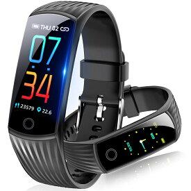 スマートウォッチ 送料無料 Semiro 血圧計 心拍計 歩数計 スマートブレスレット ランニング 活動量計 防水 電話着信 LINE メッセージ通知 消費カロリー 睡眠検測 アラーム 腕時計 レディース メンズ iphone/Android LINE