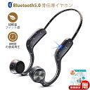 【Bluetooth5.0】骨伝導イヤホン 骨伝導 ヘッドホン ワイヤレスイヤホン Bluetooth イヤホン ブルートゥースイヤホン …