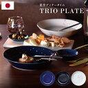 星空 トリオプレートセット ディナープレート 3枚セット 22cm 3点 カレー皿 パスタ皿 トゥインクル 大皿 中皿 ワンプ…