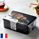 ラ・トリニテーヌ フラワー缶 ティン缶入り 厚焼きパレット&薄焼きガレット 300g La Trinitaine フランス お菓子 焼…