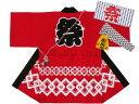 日本製 はんてん 子供用 わっしょい祭 プリント はっぴ 5点セット☆全3色
