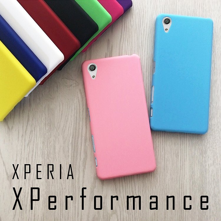 XperiaX Performance カラフルハードカバー   SOV33 SO-04H アンドロイド PC 女性 XperiaXPerformance ケース 人気 ハードケース エクスペリアX パフォーマンス エクスペリア X パフォーマンス 側面保護 Xperia X Performance 送料無料 カバー スマートフォン ハードカバー