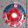 Bearings with a frisbee! Trick TRICK SPIN spin