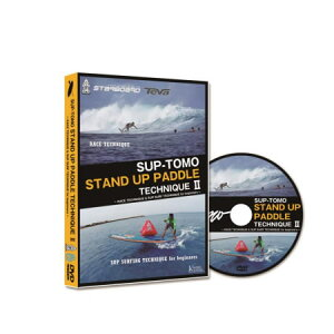 SUPパドルテクニック2HOWTODVDSUP-TOMOSTANDUPPADDLETECHNIQUE2RACETECHNIQUE&SUPSURFTECHNIQUEforbegineers【DVD】