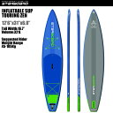 """SUP インフレータブル SUP 12'6""""x31"""" ツーリング ゼン STARBOARD INFLATABLE SUP TOURING ZEN 12'6""""x3..."""