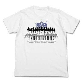 [COSPA] アイドルマスター シンデレラガールズ シンデレラプロジェクト シルエット Tシャツ WHITE XL コスパ