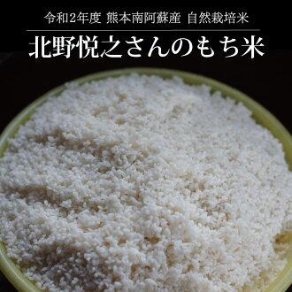 北野悦之さんの自然栽培もち米/玄米5kg