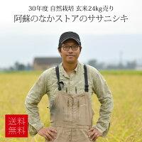 30年度産阿蘇のなかのお米/玄米30kg