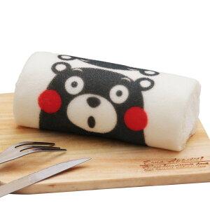 【阿蘇くまもとろーる 1本】米粉ロールケーキ 洋菓子 プチギフト くまモン お取り寄せスイーツ 熊本土産 かわいい インスタ映え ギフト 食べ物 ロールケーキ くまモンケーキ