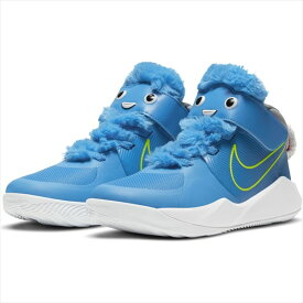 [NIKE]ナイキジュニアバスケットボールシューズナイキ チーム ハッスル D 9 LIL PS(CT4063400)(400)LT PHOTO BLUE/LT PHOTO BLUE-WOLF GREY