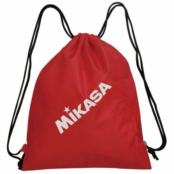 【数量1までメール便対応】 [Mikasa]ミカサ ランドリーバッグ BA39・R レッド