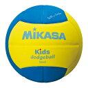 ミカサ スマイルドッジボール 2号球 キッズ用 SD20YBL イエロー×ブルー