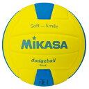 ミカサ スマイルドッジボール 2号球 SDB2YBL イエロー×ブルー