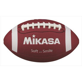 ミカサ フラッグフットボール ソフトレザー FFN-BR ブラウン