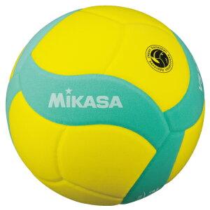 ミカサ FIVB公認スマイルバレーボール5号球 VS170W-Y-G イエロー×グリーン