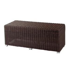 今枝ラタン ベンチ ブラウン 家具 おしゃれ 腐らない ガーデンベンチ チェア 椅子 ラタン調 可愛い 北欧 ガーデンチェア ガーデンファニチャー プラスチック 雨ざらし 屋外 アウトドア おう