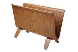 【即納】【送料無料】サイトーウッド マガジンラック チーク No.22-6T teak grain スリム 北欧 木製 おしゃれ