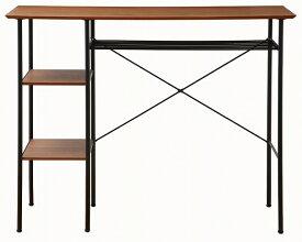 【送料無料】anthem Counter Table アンセムカウンターテーブル カウンター ブラウン ウォールナット スチール 茶 黒 ブラック 鉄 ANT-2399BR