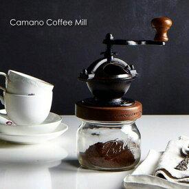 \キャッシュレス5%還元/red rooster trading company Camano Coffee Mill コーヒーミル 手動 セット アウトドア セラミック おしゃれ かわいい ブラック キャンプ アメリカ